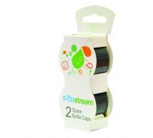 Víčko šedé na plastové lahve 2 ks SodaStream