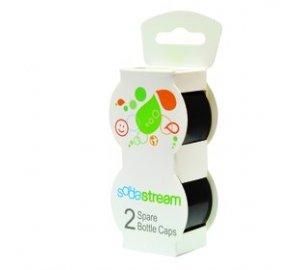Víčko černé na plastové láhve 2 ks SodaStream