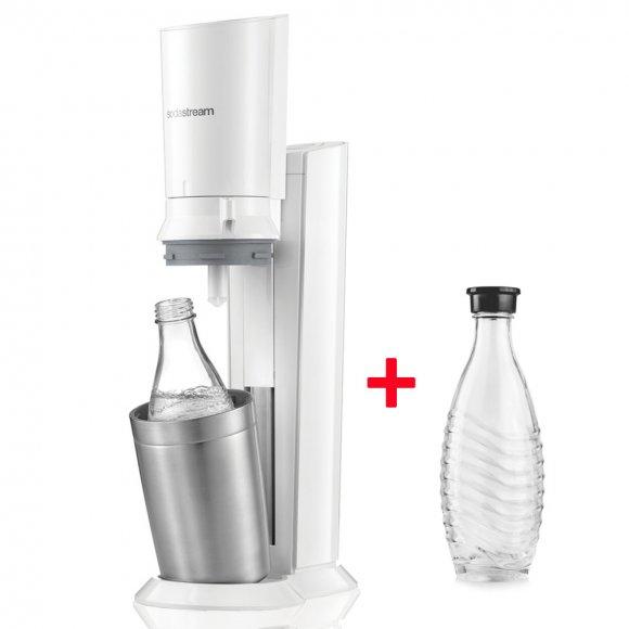 SodaStream Crystal White + Náhradní lahev zdarma